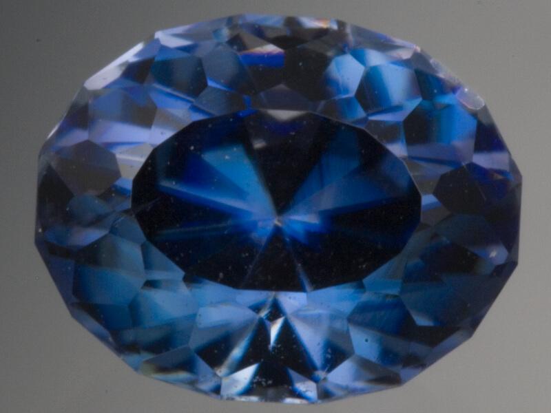 Blue Benitoite