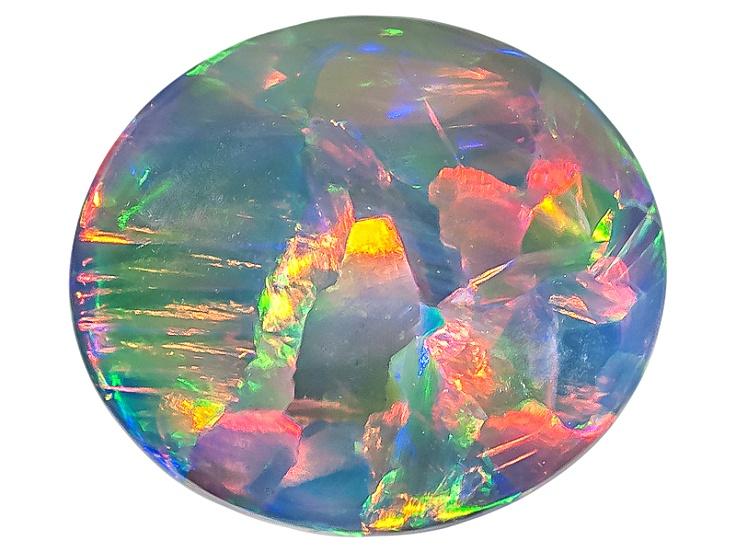 Multi-color Black Opal