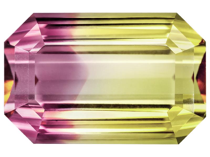 Bi-color Elbaite
