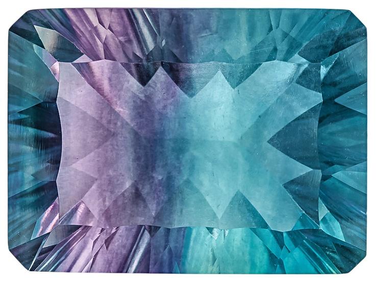 Bi-color Fluorite