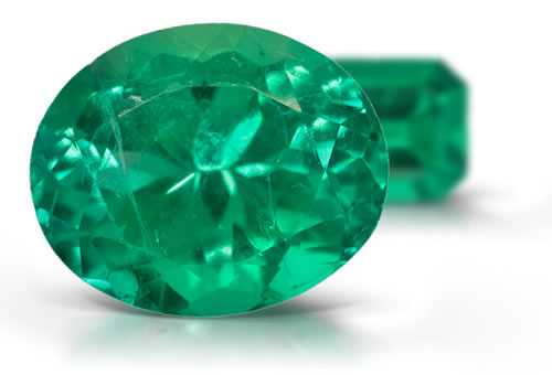 Fractured-Filled Emerald