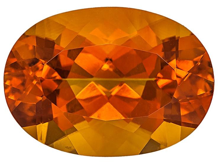 Orange Madeira Citrine
