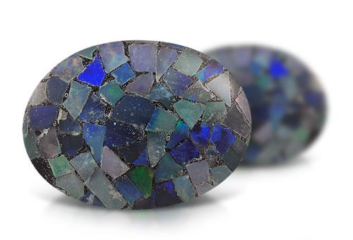 Mosaic Opal Triplet Opal