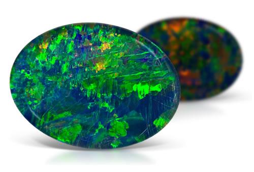 Opal Triplet Opal