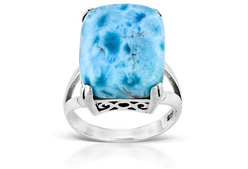 Blue Pectolite