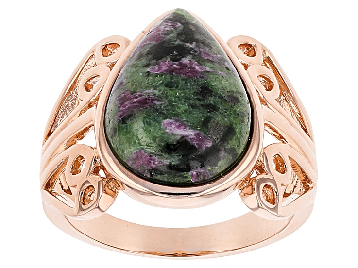 Ruby-Zoisite Polished