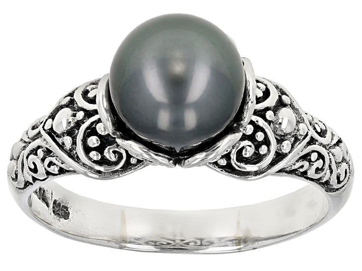 Gray Saltwater Pearl