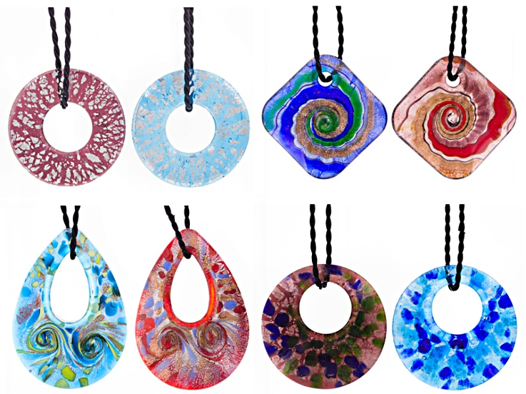 Multi-color Venetian Glass