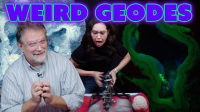 Opening Unusual Geodes | Fluorescent, Druzy, Rattlers, & More!