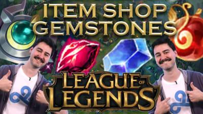 League of Legends' Support Item Gemstones!