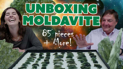 The Rarest Form of Moldavite? Unboxing Angel Chimes & More!
