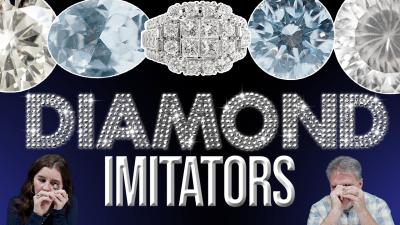 Unboxing Diamond Imitators | Moissanite, Danburite, and More!