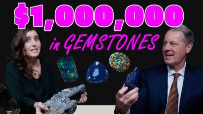 Unboxing A Million Dollars in Gemstones! Top Grade Black Opal & More!