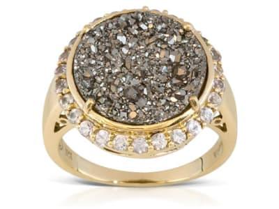 Drusy Quartz Jewelry
