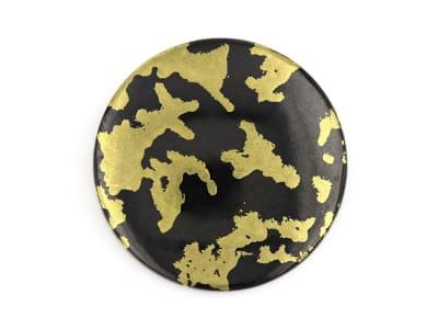 goldenite hornblende round cobochon