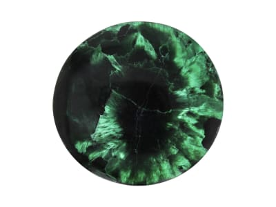 malachite round cobochon