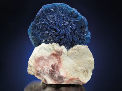 Radial Azurite