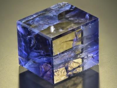 Polished Iolite cube