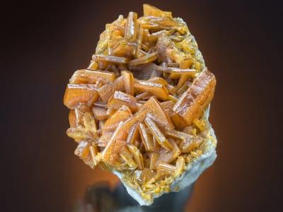 Wulfenite Crystals