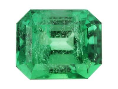 emerald colombian emerald cut
