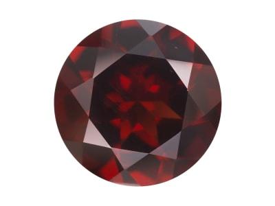 red garnet round