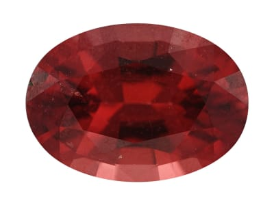 red spinel oval