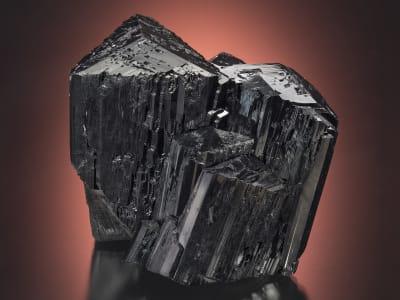 black schorl specimen