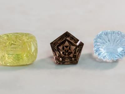 gemstone shape vs cut