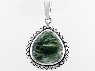 Seraphinite Jewelry