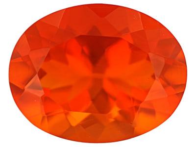 Fire Opal Polished