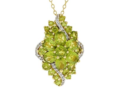 Vesuvianite Jewelry