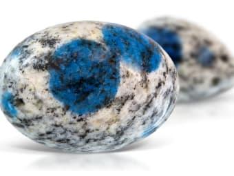 Azurite in Granite Azurite