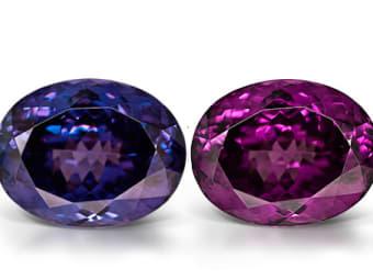 Color-Change and Color-Shift Garnet Garnet