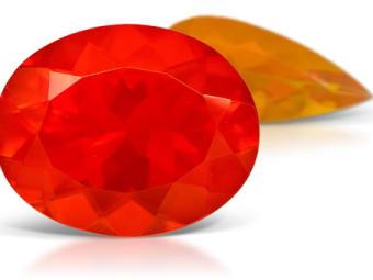 Fire Opal Opal