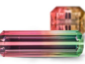Multi-Colored Tourmaline Tourmaline