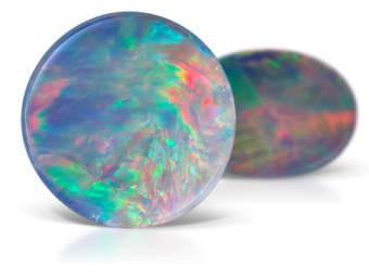 Opal Doublet Opal