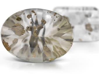 Pyrite In Quartz Quartz