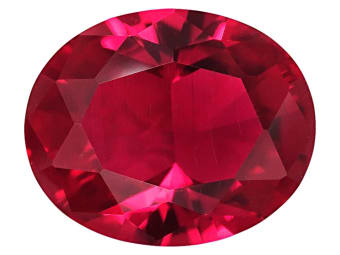 Lab Created Flame Fusion Ruby