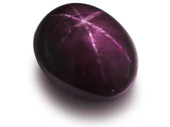 Star or Cat's-Eye Rhodolite Rhodolite