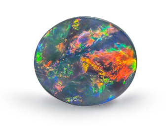Lighting ridge black opal