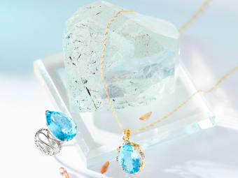 blue topaz jewelry