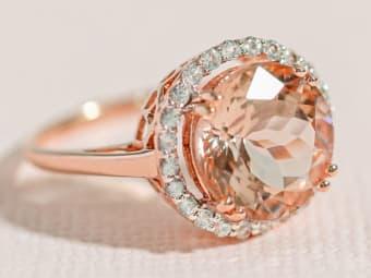 Cor-de-rosa Ring